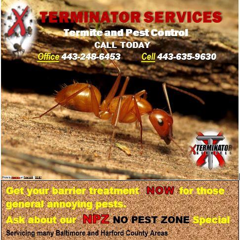 Xterminator Services AD Barrier Treatment